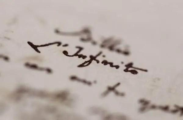 LInfinito Ritirato dall'asta il terzo manoscritto de L'Infinito di Leopardi Letteratura