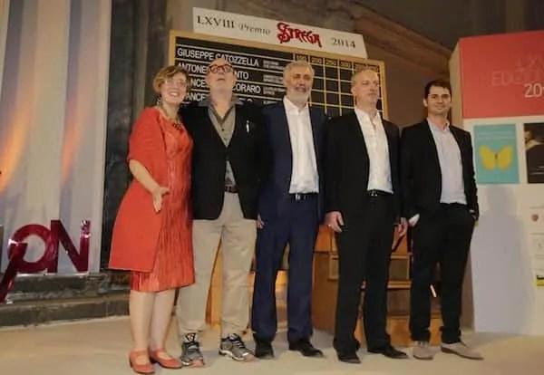 Premio Strega, i cinque finalisti