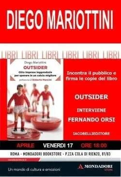 Presentazione di Outsider di Diego Mariottini