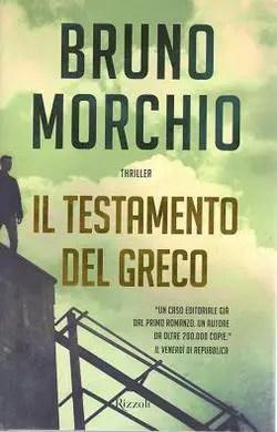 Recensione di Il testamento del Greco di Bruno Morchio