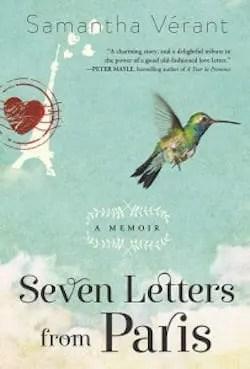 Sette lettere da Parigi di Samantha Verant