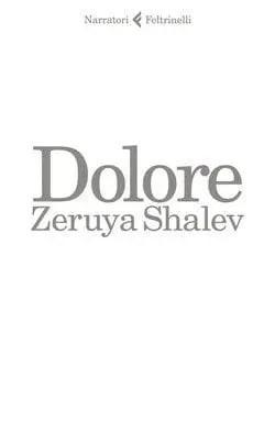 Dolore-cover Dolore di Zeruya Shalev Anteprime