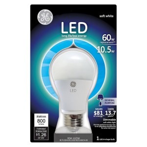 LED BULBS - CAP LIGHT