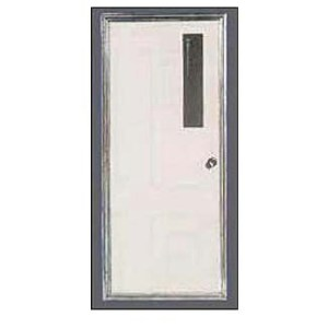 MOBILE HOME DOOR W/4X24 WINDOW
