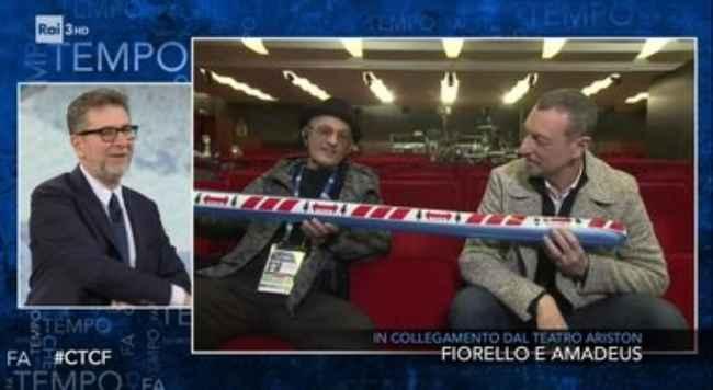 Fiorello stupisce e dichiara su Sanremo: Lei è stata squalificata dalla gara