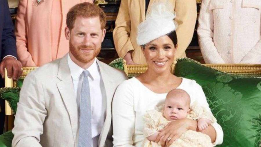 Meghan Harry Archie principe