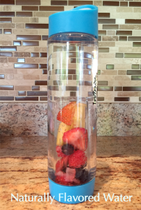 Naturally Flavored Water Made With Fruit