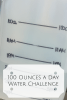 100 Ounces a Day Water Challenge