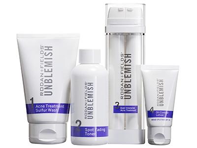 rodan fields unblemish  regimen  control  acne