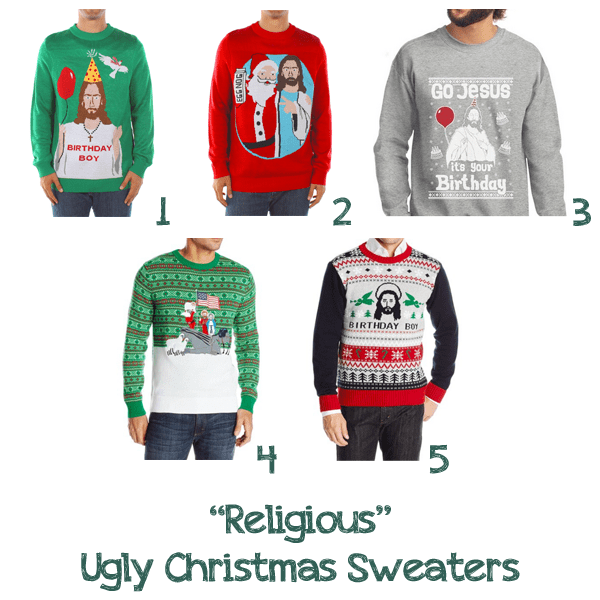 Religious Ugly Christmas Sweaters