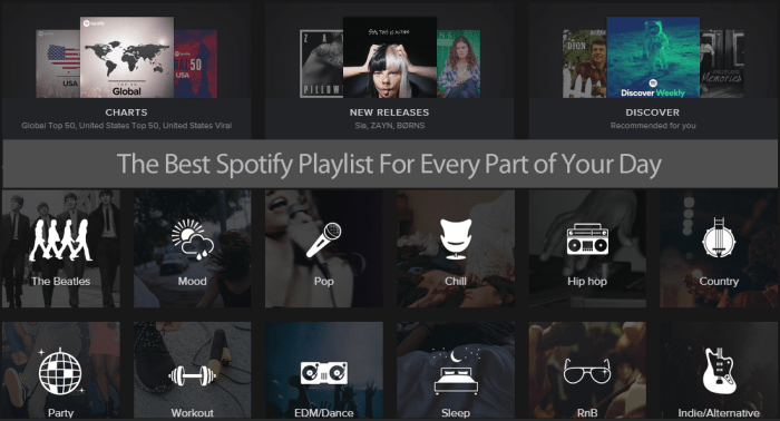 The Best Spotify Playlists For Work, Working Out, Cleaning Your House & Winding Down