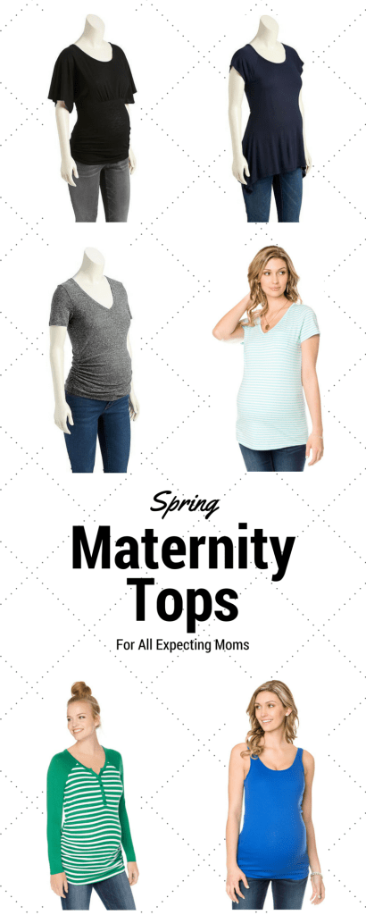 Spring Maternity Tops