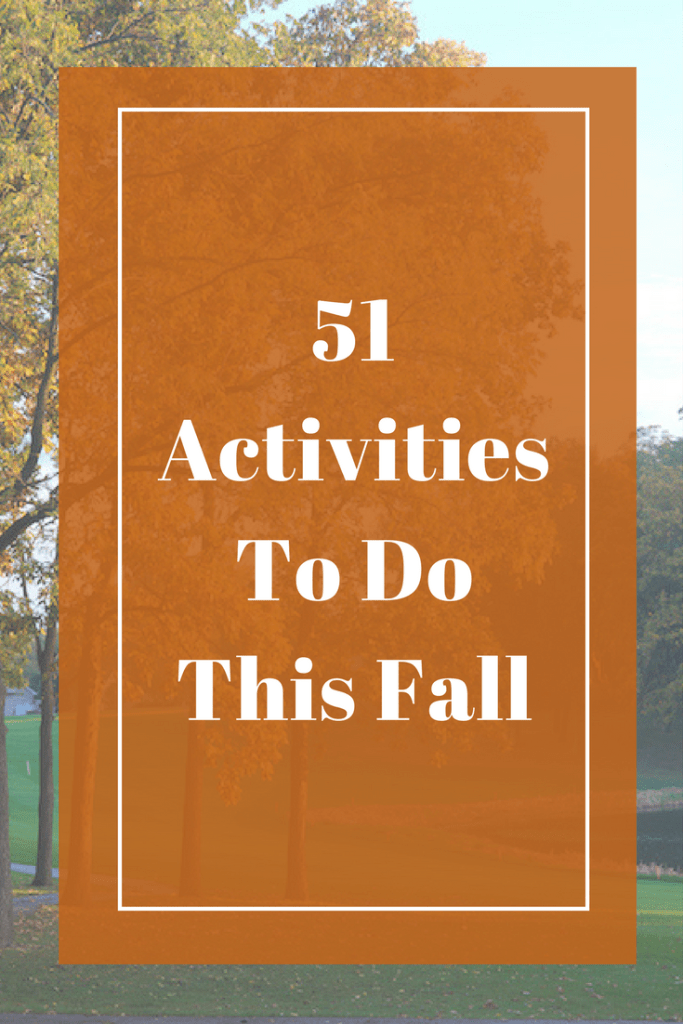 51 Fall Activities