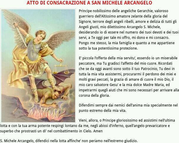 A San Michele Arcangelo Umile Difensore Della Chiesa