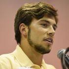 Tennessee Federalist Jayson Blackburn speaks during the election process for 2017 American Legion Boys Nation president on Tuesday, July 25, 2017. Photo by Clay Lomneth / The American Legion.