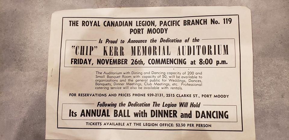 Legion119 Annual Ball in 1954