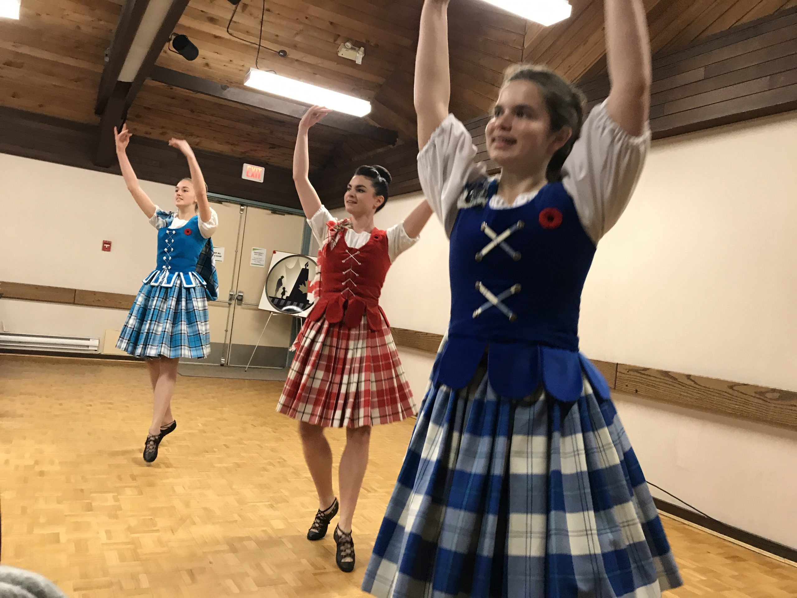 Highland Dancers on Nov 11, 2019