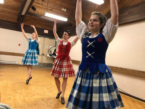 Highland Dancers on Nov 11, 2019