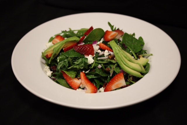Legion119 Strawberry Goat Cheese Salad