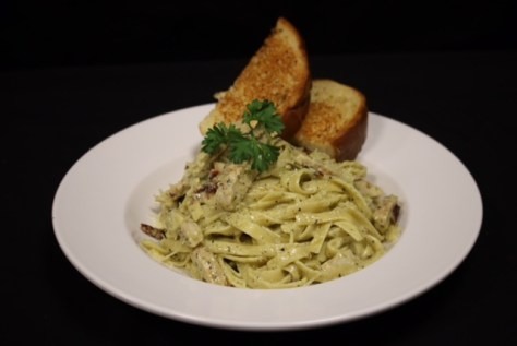 Pasta with Garlic Toast Legion119