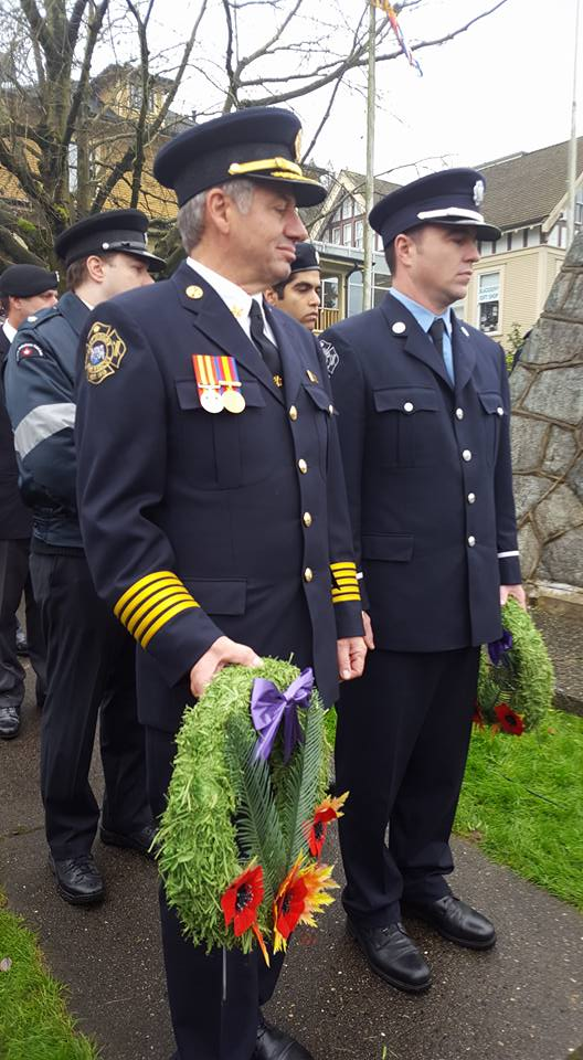 Legion119 Laying of Wreaths on Remembrance Day 2019