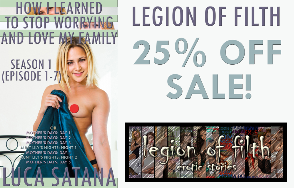 LOF Sale: How I Learned To Stop Worrying And Love My Family: Season 1 (Episode 1-7) by Luca Satana