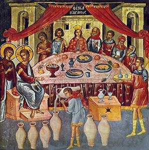 Second Luminous Mystery of the Rosary - Wedding at Cana