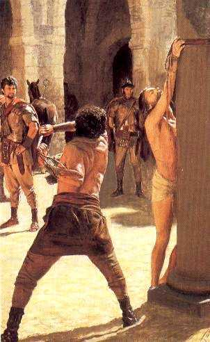 Second Sorrowfull Mystery of the Rosary - Scourging at the Pillar