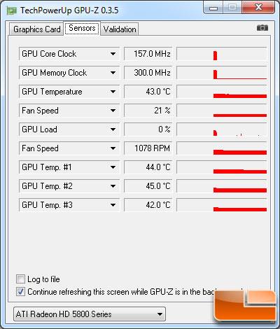 ATI HD 5850 GPU-Z