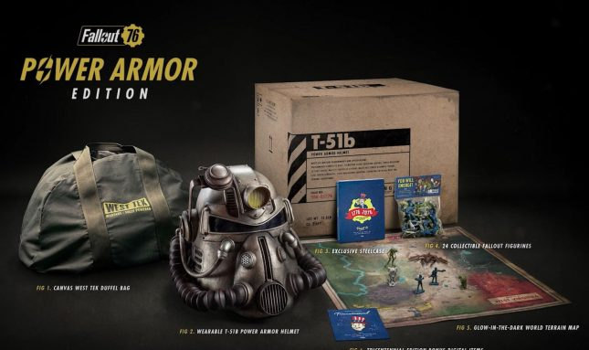 Bethesda Sending Out Canvas Bags To Fallout 76 Power Armor