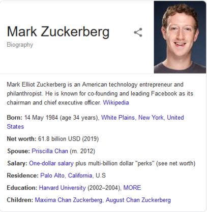 BIO: Mark Zuckerberg Net Worth, House, Wife, Children, Age