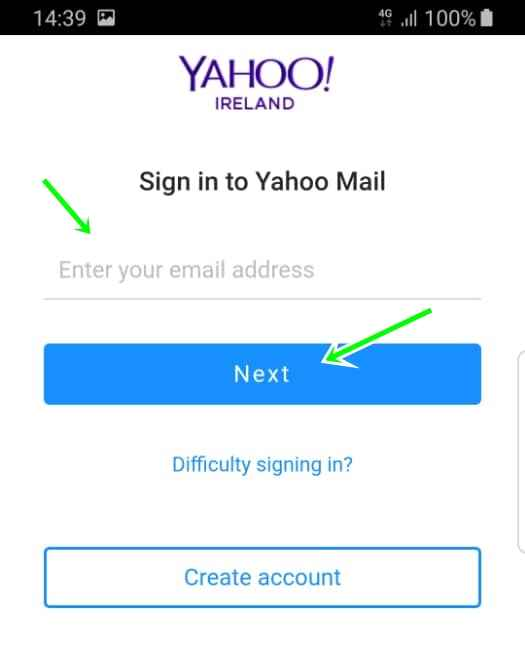Yahoo Login For Email From Yahoomail App