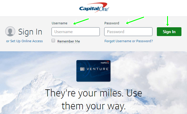 Capital One Credit Card Online Payment Login >> Apply For Capital One Quicksilver Credit Card With Account Sign In Steps
