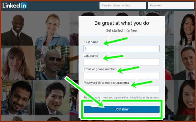 Steps To LinkedIn Registration For Career Opportunities: LinkedIn Sign Up