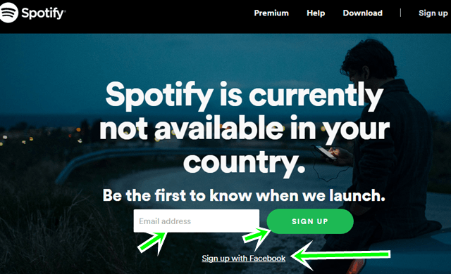 How To Create Spotify Account: Spotify Facebook Sign Up
