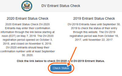News about DV Lottery Result 2019 Entrant Status Check – DV 2020 Result