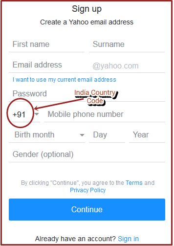 How To Create Yahoo Mail India Account | +91 Yahoo Mail Sign Up