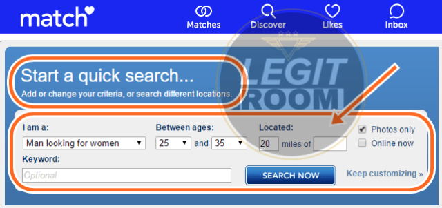How To Browse Match.com Without Joining / Signing Up / Registering Account