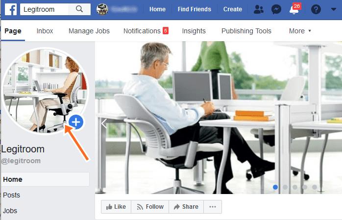 Change FB Page Photo