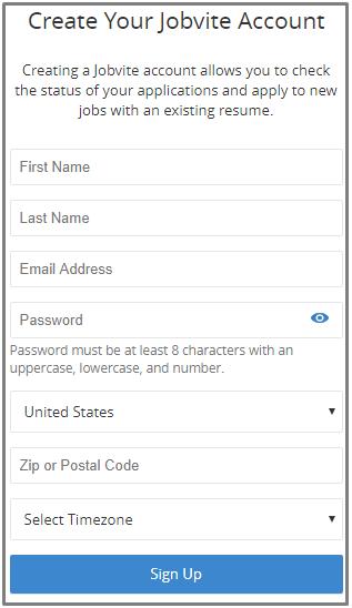 Jobvite Recruitment Software - Jobvite Sign Up Portal