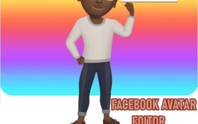Facebook Avatar Editor: Facebook Avatar Customizer Link