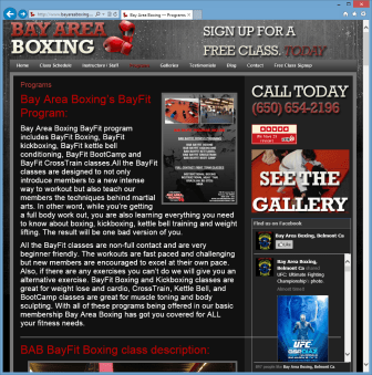 Boxing Program