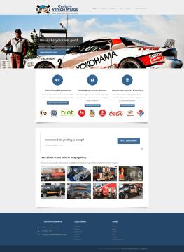 Custom Vehicle Wraps Homepage