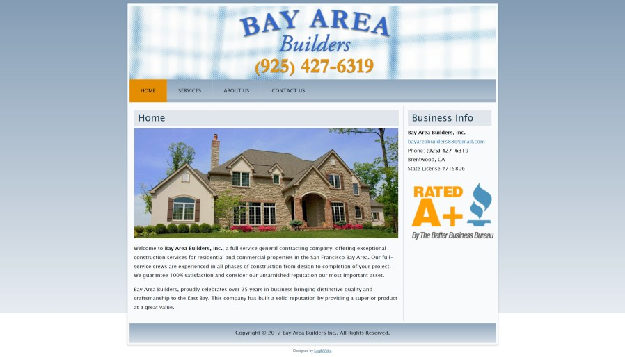 Bay Area Builders Inc