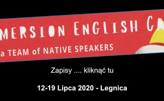 Immersion English Camp   12-19 lipca, 2020 – Legnica