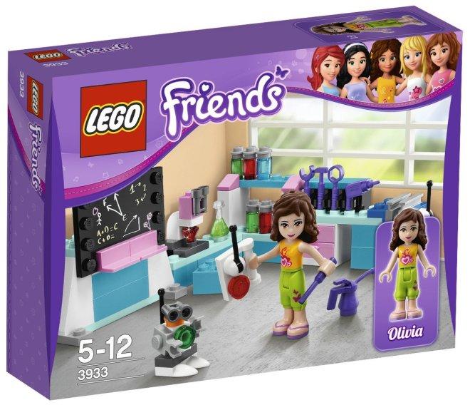 Lego Friends 3933 Olivias Ideenwerkstatt