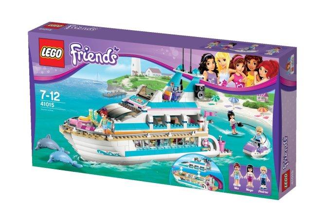 Lego Friends Yacht 41015
