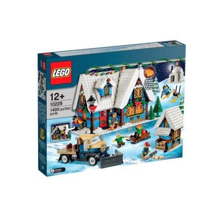 lego 10229 Winterliche Hütte zu Weihnachten 2013