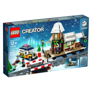 LEGO 10259 Winterlicher Bahnhof zu Weihnachten 2017