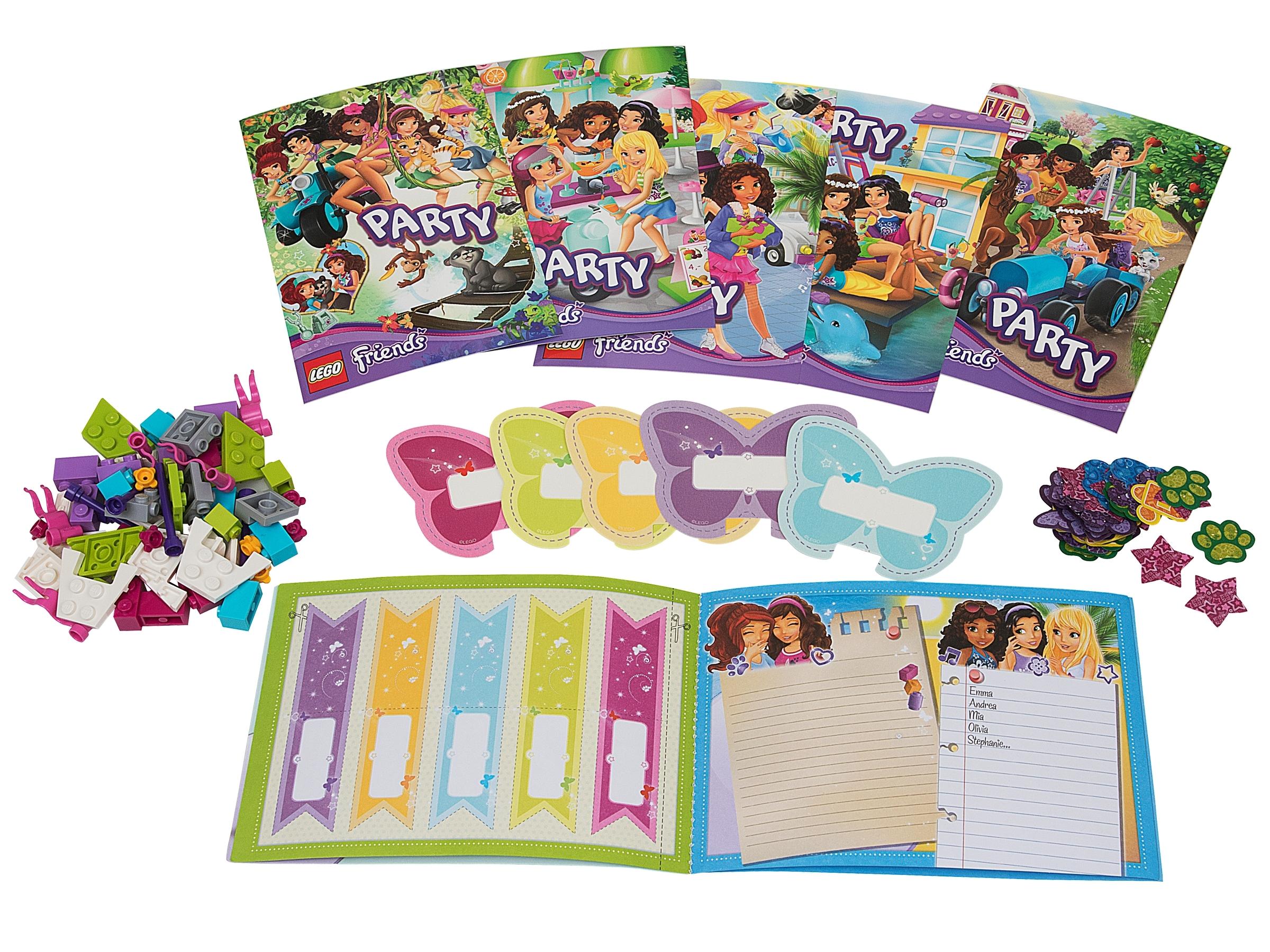 Party Set 851362 Friends Offiziellen Lego Shop De